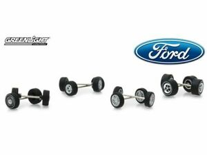 Greenlight 164 Ford Wheel & Tire Accessory Pack HOBBY EXCLUSIVE ISSUE 13166