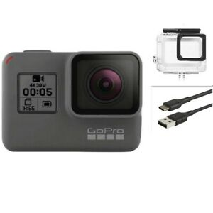 Refurbished GoPro HERO 5 Black Waterproof Action 4K Ultra HD Camera Touch Screen