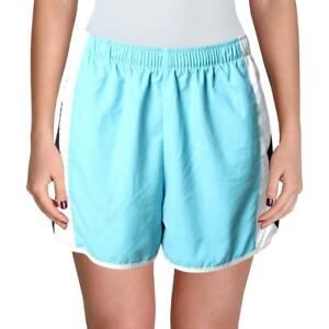 Nike Womens Blue Running Colorblock Active Shorts S BHFO 2713