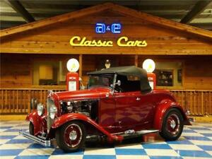 1932 Roadster 350 Cui 700R4 1932 Ford Roadster-Red Candy Metallic