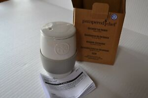 Pampered Chef Microwave CERAMIC EGG COOKER - Baked Oatmeal & Muffins Too!