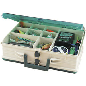 Plano Magnum Tackle Box Double Side SandstoneGreen 1119-06