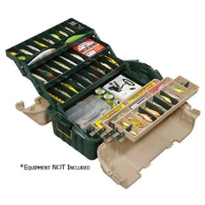 Plano Hip Roof Tackle Box w6-Trays - GreenSandstone