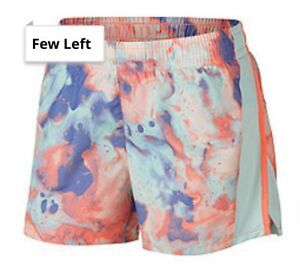 NWT- NIKE DRY-FIT RUNNING SHORTS YOUTH GIRLS LARGE  Multicolored #6002