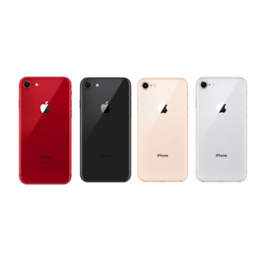 Apple iPhone 8 - 256GB 64GB - (Factory GSM Unlocked; AT&T  T-Mobile) All Colors