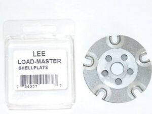 LEE 90910 #4S Load Master Shell Plate for .222 .223 & 380 Acp