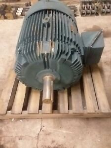 Reliance Electric Motor 01man28999 2 speed 60hp  1775rpm 30hp  890 rpm fr 405T