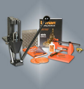 Lyman Reloading Press Crusher Pro Kit with Pro 500 Scale