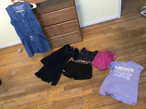 Lot Of Girls Size 16 Clothing. Justice Under Armour Childrens Place Old Navy