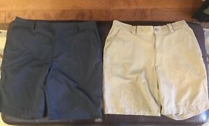 Under Armour Men's Golf Shorts 36 Lot Of 2