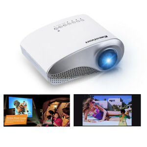 Excelvan LEDLCD Mini Multimedia Projector AV USBVGAHDMISD Home Theater