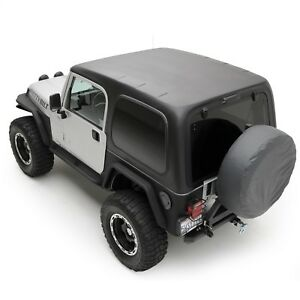 Smittybilt 519701 Replacement Hard Top Fits 1997-2006 Wrangler TJ 2.5-4 L