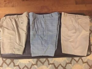 Under Armour Mens Golf Shorts 36 Lot  Of 3