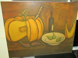 BERNARD BUFFET quot;STILL LIFE BUFFETquot; OLD COLOR LARGE LITHOGRAPH UNFRAMED $150.00