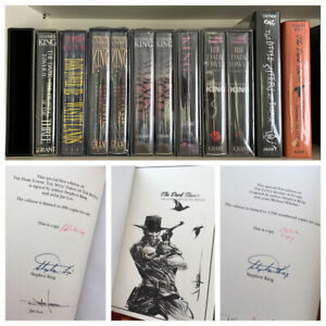 Stephen King's The Dark Tower  Matching Set #PC  Signed Limited   Donald M
