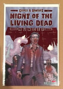NIGHT OF THE LIVING DEAD #1 • SIGNED GEORGE ROMERO POSTER & COMIC • AVATAR COA