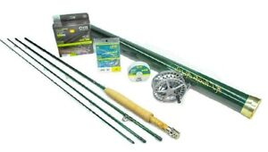 Winston AIR Fly Rod Outfit 380-4 (3wt 8'0