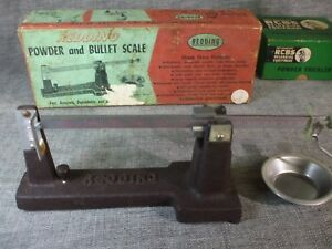 VINTAGE REDDING POWDER AND BULLET SCALE