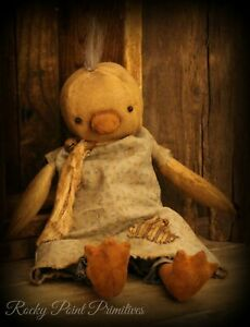 Primitive Easter Spring Duck Doll