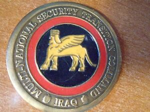 Multi-National Security Transition Command Surgeon General IRAQ Challenge Coin