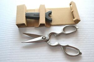 Pampered Chef All Stainless Steel Come-Apart KITCHEN SHEARS Lifetime Guarantee