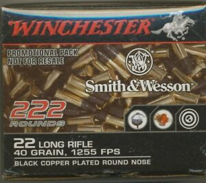 Winchester S & W .22 BoxMint ConditionEmpty Rare Came Packed With Pistol