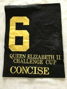 CONCISE QUEEN ELIZABETH CHALLENGE CUP STAKES SADDLE CLOTH KEENELAND