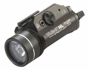 Streamlight TLR-1 HL - 800 Lumens 69260 Weapon Tactical Flashlight With Strobe