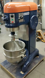 Hobart 60 qt Mixer with bowl paddle dough hook & whip 220 volt Single phase