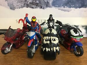 The Amazing Spider-Man X-Treme Cycle Venom Marvel Legends Action Figure Lot