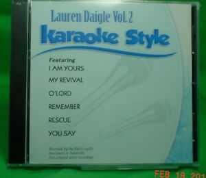 Lauren Daigle  Volume #2   Christian  Daywind  Karaoke Songs  cdg  Karaoke  NEW