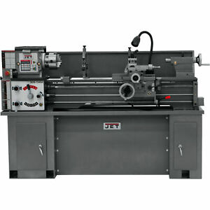 JET Belt Drive Bench Lathe with Stand - 13in x 40in Model# BDB-1340ACBS-1340A