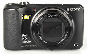 Sony Cyber-shot DSC-HX10V 18.2 MP Digital Camera - Black