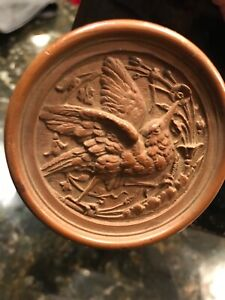 Russell & Erwin set of Brass Hummingbird Door Knobs 1869  (R&E)