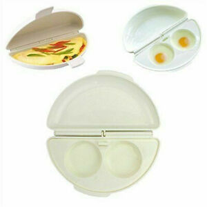 Egg & Omelet Wave Microwave Cooker Breakfast Poached As Seen On TV Durable 1 Pc