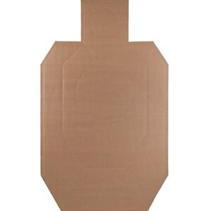 New Official IDPA Cardboard Torso Target Pack of 100 Fast Shipping!!