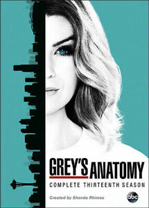 Grey#x27;s Anatomy: Complete Season Series 13TH Thirteen DVD FREE EXPEDITED SHIPPING