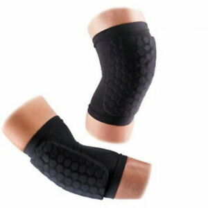 McDavid Hex Knee Elbow Shin Pads Support Compression Protector 6440R 1Pair E_n