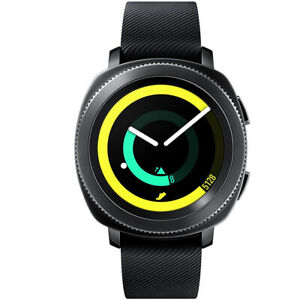 Samsung Gear Sport Smartwatch SM-R600 with Silicone Band Classic Buckle