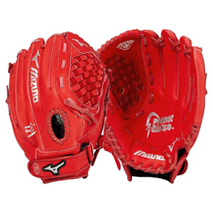 NEW Original Prospect Series Mizuno youth 12 In Baseball Glove Red closed basked