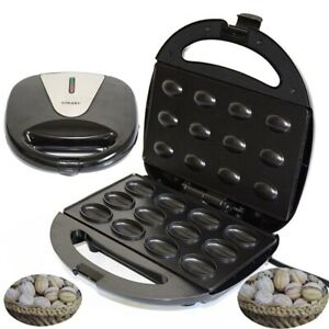 Toaster Electric Grill Baking Machine Nut Griddle Maker Cooker For Breakfast