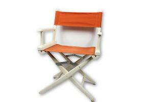 Vintage 60s Telescope Foldable Folding Directors Chair Patio Furniture Chairs
