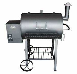 Wood Pellet Grill Smoker Best Electric On Sale BBQ Meat Kitchen Outdoor Patio