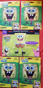5x Sponge-Bob SquarePants Party Supplies Value pk- 1-22