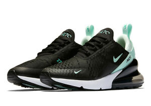 Nike Women's Air Max 270 AH6789 008 BlackIglooHyper TurquoiseWhite Size 5.5