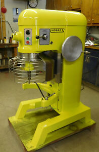 Hobart 60qt Mixer with Guard new bowl paddle dough-hook whip 2 hp 1 phase 220 VT