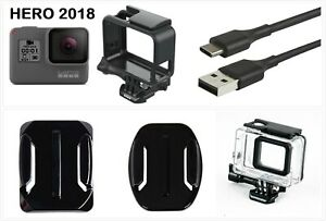 New GoPro HERO 2018 Waterproof Action HD Camera Touch Screen Camcorder w Frame