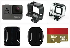 Refurbished GoPro HERO 5 Black Waterproof Action 4K Ultra HD Camera SD card Kit