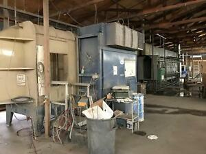 Complete Operation-Powder Coating Room-Woodworking-Finishing Equipment