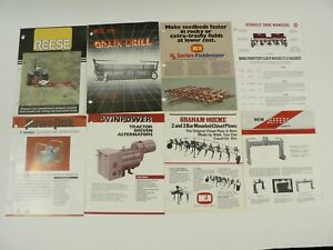 VTG Reese Best Line Jeffers Winpower Power Pak Wamp;A Manufacturing Co Ads Lot of 8